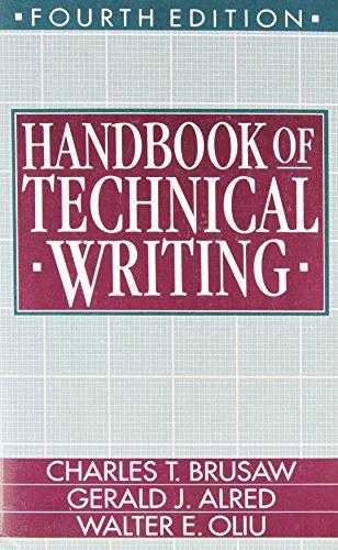 9780312057336: Handbook of Technical Writing