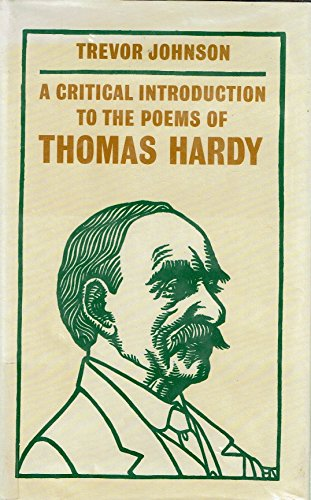 9780312057909: A Critical Introduction to the Poems of Thomas Hardy