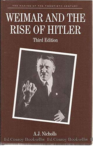 9780312057954: Weimar and the Rise of Hitler