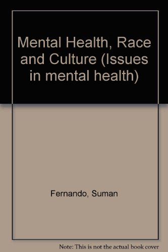 9780312058074: Mental Health, Race and Culture