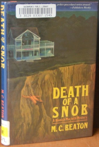 9780312058517: Death of a Snob (Hamish Macbeth Mysteries, No. 6)