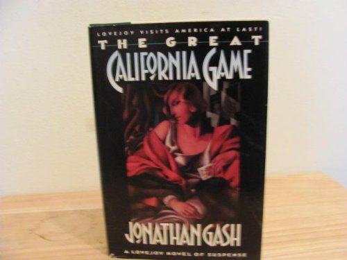 The Great California Game: Gash, Jonathan