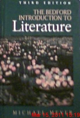 9780312065461: The Bedford Introduction to Literature