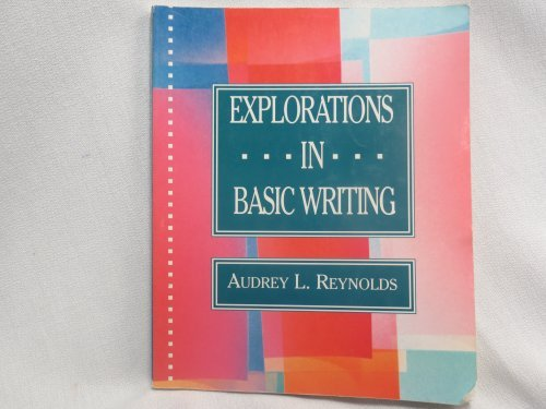 9780312066642: Exploration in Basic Writing