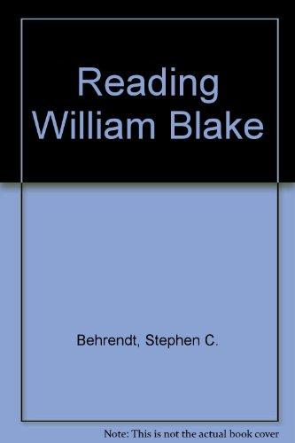9780312068356: Reading William Blake