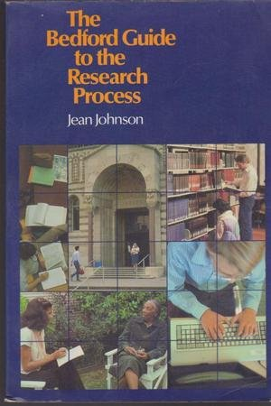 9780312071141: The Bedford guide to the research process