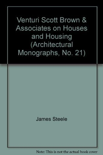 9780312071486: Venturi Scott Brown & Associates on Houses and Housing (Architectural Monographs, No. 21)