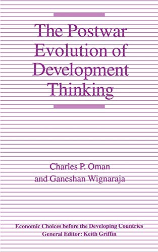9780312071851: The Postwar Evolution of Development Thinking (Economic Choices before the Developing Countries)