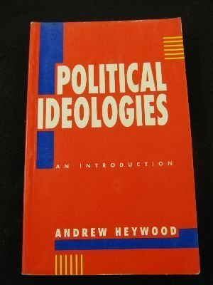 9780312072698: Political Ideologies: An Introduction