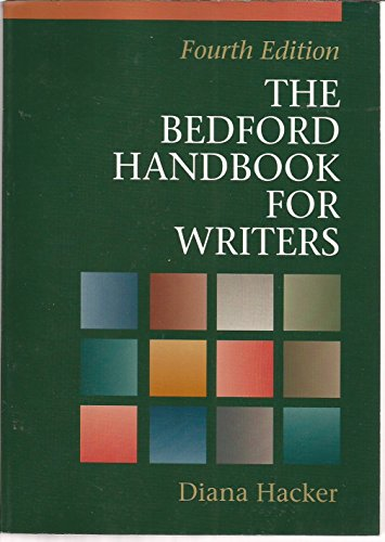 The Bedford Handbook for Writers: Diana Hacker