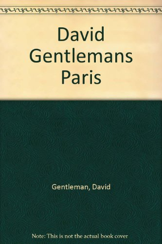 9780312076948: David Gentlemans Paris