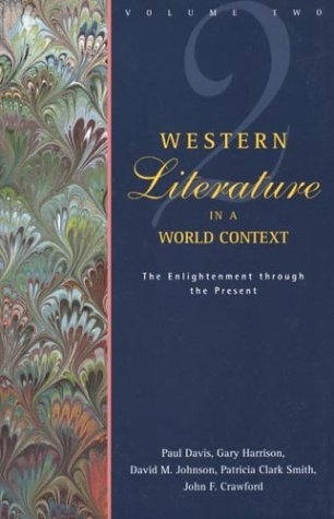 Western Literature in a World Context: Volume: Davis, Paul, Crawford,