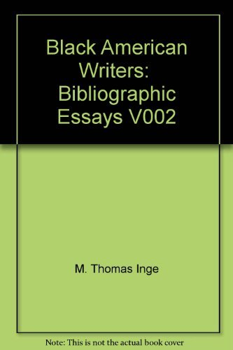 9780312082956: Black American Writers: Bibliographic Essays V002