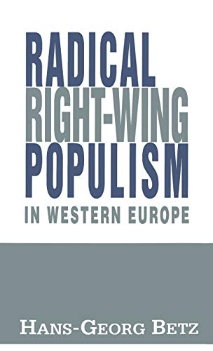 9780312083908: Radical Right-Wing Populism in Western Europe