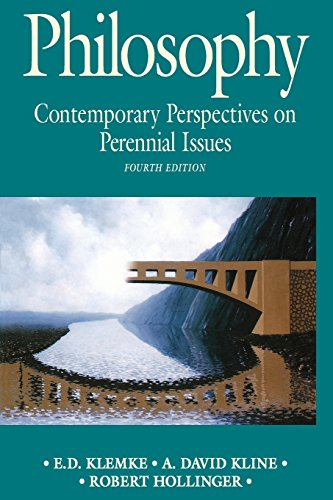 9780312084783: Philosophy: Contemporary Perspectives on Perennial Issues