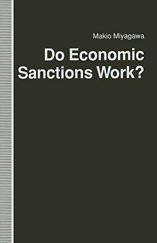9780312085445: Do Economic Sanctions Work?