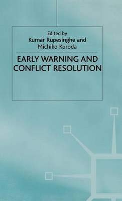 9780312085643: Early Warning and Conflict Resolution
