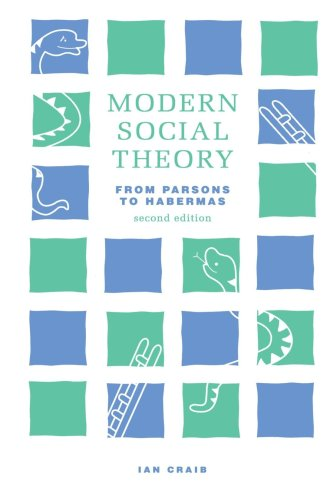 9780312086749: Modern Social Theory: From Parsons to Habermas