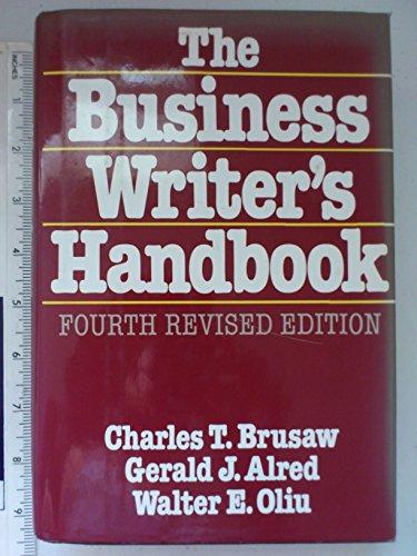 9780312087159: The Business Writer's Handbook