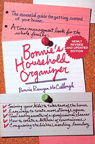 9780312087951: Bonnie's Household Organizer: The Essential Guide for Getting Control of Your Home