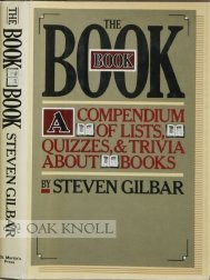 The Book; A Compendium of Lsits, Quizzes, and Trivia About Books