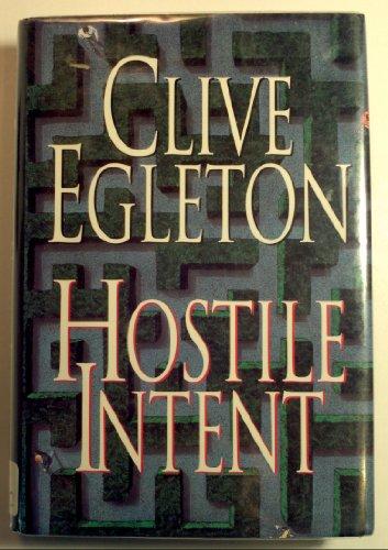 9780312088125: Hostile Intent