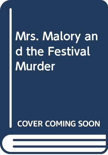 9780312088521: Mrs. Malory and the Festival Murder