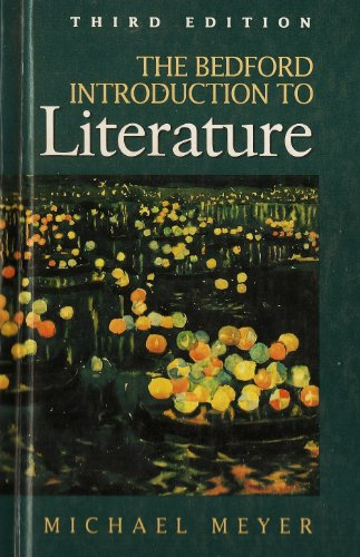 9780312089634: The Bedford Introduction to Literature- Professional Free Copy, 3rd