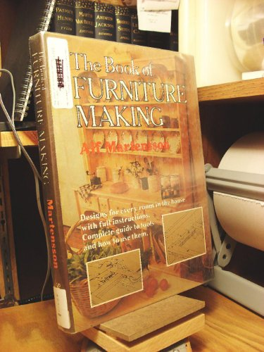 9780312089733: The Book of Furniture Making