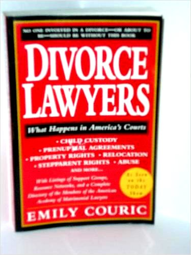 9780312092740: The Divorce Lawyers: What Happens In America's Courts