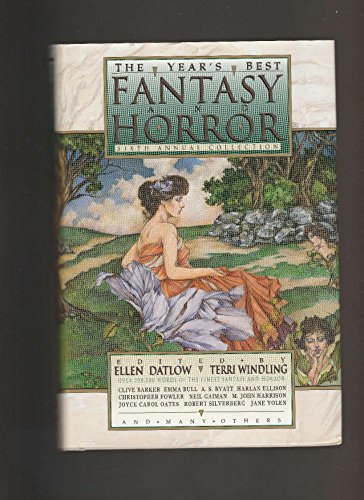 9780312094218: The Year's Best Fantasy and Horror: Sixth Annual Collection