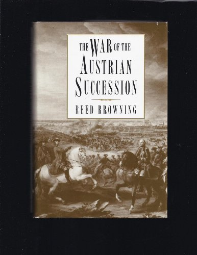 9780312094836: The War of the Austrian Succession