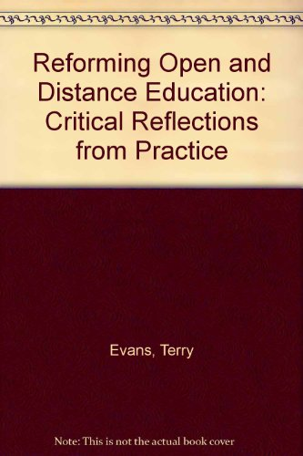 9780312094843: Reforming Open and Distance Education: Critical Reflections from Practice