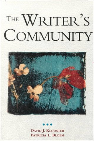 9780312095390: The Writer's Community
