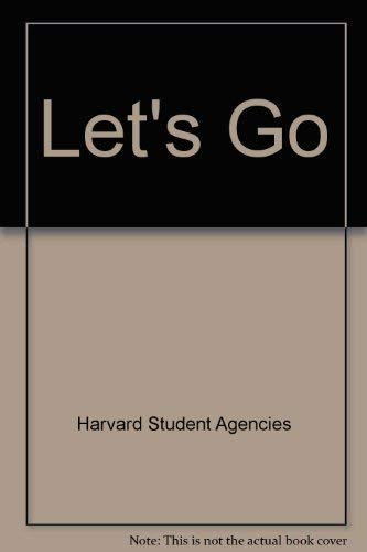 Let's Go: Harvard Student Agencies