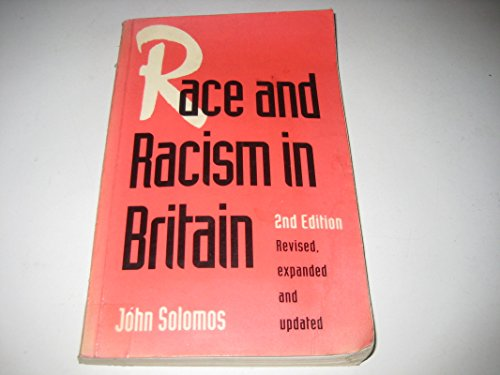 9780312099800: Race and Racism in Britain