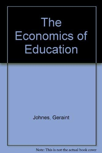 9780312099916: The Economics of Education