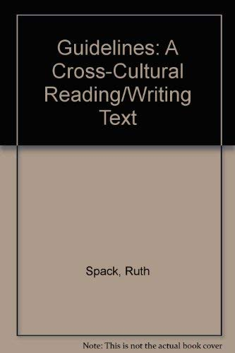 9780312101527: Guidelines: A Cross-Cultural Reading/Writing Text (Cambridge Academic Writing Collection)