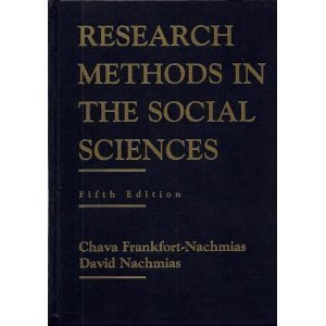 9780312101596: Research Methods in the Social Sciences, 5th Edition