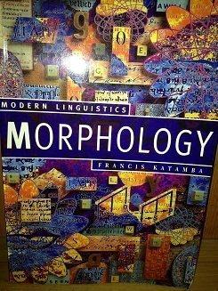 9780312103569: Morphology (Modern Linguistics Series)