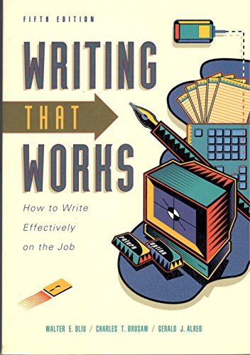 9780312103767: Writing That Works: How to Write Effectively on the Job