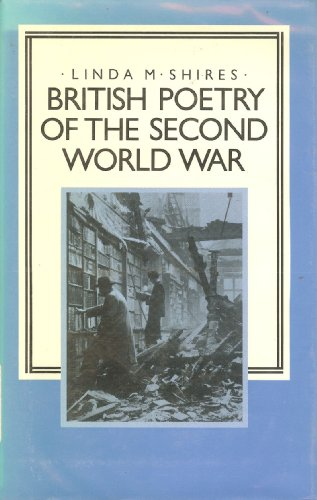 9780312104160: British Poetry of the Second World War