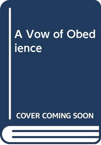 9780312105730: A Vow of Obedience (Sister Joan Mystery)
