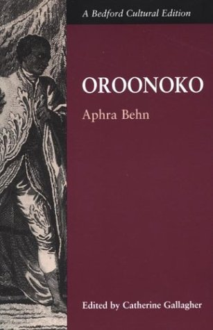 9780312108137: Oroonoko; or, The Royal Slave (Bedford Cultural Editions)
