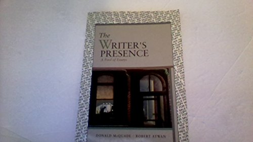 9780312108298: The Writer's Presence: A Pool of Reading