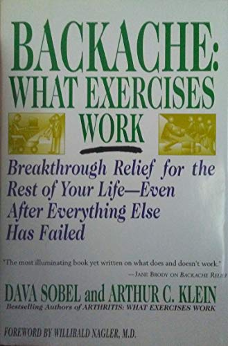 9780312109332: Backache: What Exercises Work