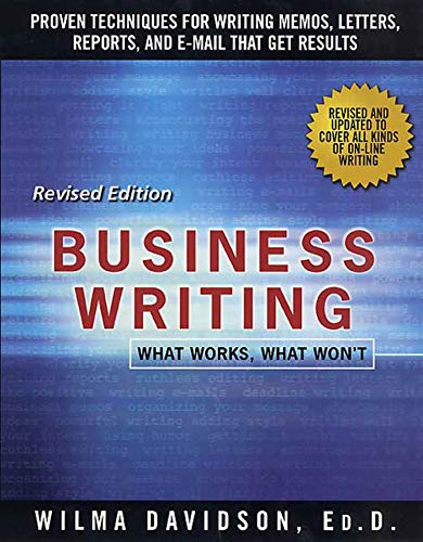 9780312109486: Business Writing: What Works, What Won't