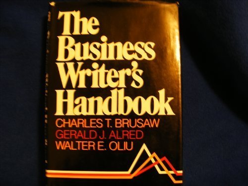 9780312109905: The Business Writer's Handbook