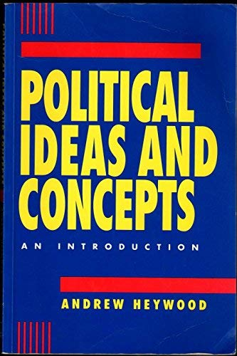 9780312112202: Political Ideas and Concepts: An Introduction