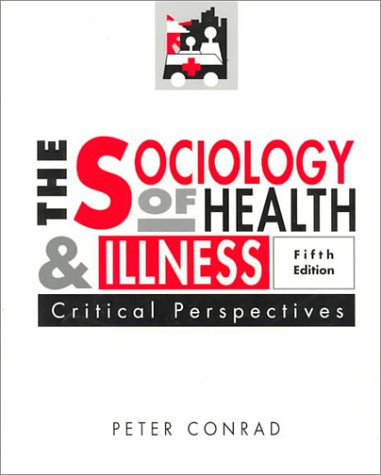 9780312112295: Sociology of Health and Illness: Critical Perspectives